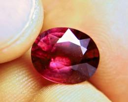 5.6 Carat Vibrant Purplish Red Ruby - Superb