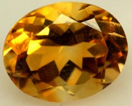 CITRINE NATURAL FACETED 2.50 CTS TBG-1780
