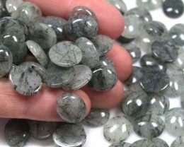120PCS HEMATITE IN MICA(12X10X4MM) 400CTS  RA 902