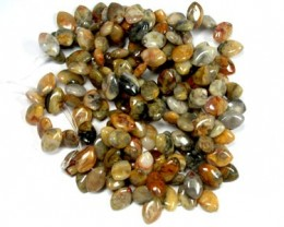 3 CRAZY LACE AGATE  BEADS   RA1396
