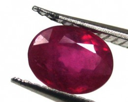 NATURAL RUBY  GOOD QUALITY  1.25 CARATS RA1556