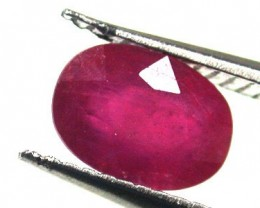 NATURAL RUBY GOOD QUALITY 1.25 CARATS RA1557