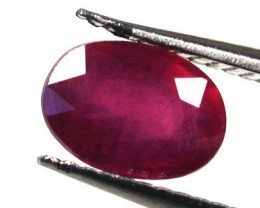 NATURAL RUBY GOOD QUALITY 1.30 CARATS RA1558