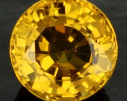 0.85 CTS MADAGSCAN  NATURAL  YELLOW SAPPHIRE [PS178]