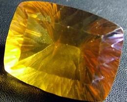 MASSIVE FLUORITE GOLD -BRILLIANT COLOURS 135 CTS [S2199]