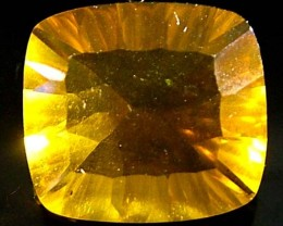 FLUORITE  GOLD -BRILLIANT CLEAN COLOURS 12.8 CTS [S2208]