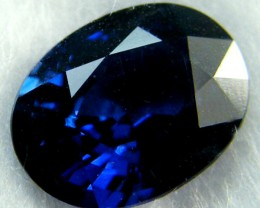 FREE SHIP CERTIFIED NATURAL SAPPHIRE 1.45 CTS  SG123