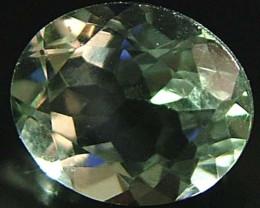 Prasiolite (Green Amethyst)