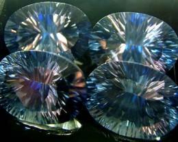 MYSTIC QUARTZ  '' BLUE LAGOON''  PARCEL VS 48.2 CTS  [S2805]