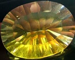 FLUORITE -BRILLIANT CLEAN  GOLDEN COLOURS  17.8 CTS [S2843]