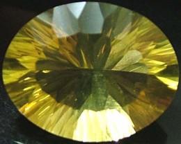 FLUORITE -BRILLIANT CLEAN  GOLDEN COLOURS 13.8 CTS [S2865]