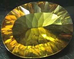 FLUORITE -BRILLIANT CLEAN  GOLDEN COLOURS 11.8 CTS [S2866]