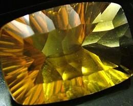 FLUORITE -BRILLIANT CLEAN  GOLDEN COLOURS 18.1 CTS [S2877]