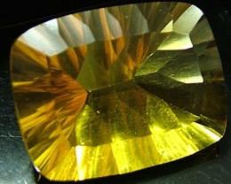 FLUORITE -BRILLIANT CLEAN  GOLDEN COLOURS 20.6 CTS [S2879]