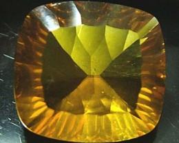 FLUORITE -BRILLIANT CLEAN  GOLDEN COLOURS 17 CTS [S2889]4