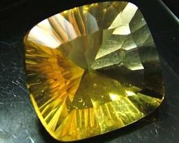 FLUORITE -BRILLIANT CLEAN  GOLDEN COLOURS 13.7 CTS [S2891]