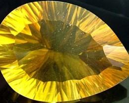 FLUORITE -BRILLIANT CLEAN  GOLDEN COLOURS 23 CTS [S2899]