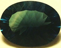 FLUORITE-BRILLIANT CLEAN GREEN-BLUE COLORS 10.8 CTS [S2933]