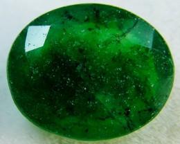Quartz Emerald Green colour   4  carats   QU35