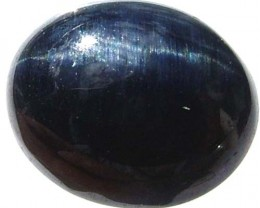 CATS EYE TIGER IRON -DYED BLUE 2.5 CTS [S3122 ]