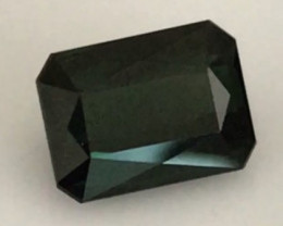 CERTIFIED 3.6ct Bottle Green Tourmaline - Nigeria  A1017 H648