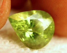 7.26 Carat SI Sphene - Lovely Green - Fun Stone