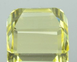 3.39 Cts Natural Golden Yellow Scapolite Octagon Tanzania 1$ NR
