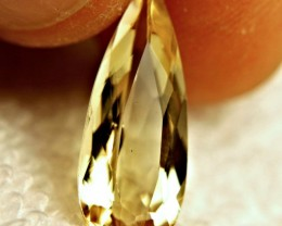 4.72 Carat VVS South American Golden Beryl - Superb