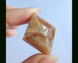 42.2 Cts Faceted Fashion,Sunstone Pendant Bead