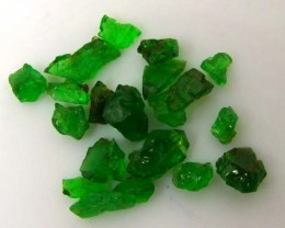TSAVORITE ROUGH CRYSTAL GREEN (PARCEL) 5 CTS RG-616