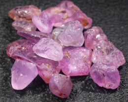 16.8 CTS PINK SAPPHIRE ROUGH -AFRICA [F5957]