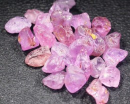 18.9 CTS PINK SAPPHIRE ROUGH -AFRICA [F5965]