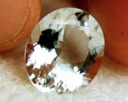 11.23 Carat VVS1 Natural Brazil Aquamarine - Superb