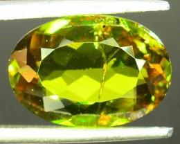 Natural Sphene 3.13 ct Great Color Dispersion