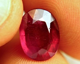 5.389 Carat Pigeon Blood Ruby - Beautiful