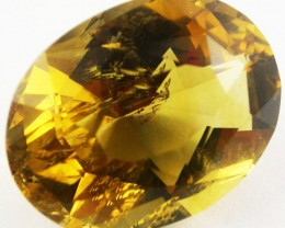 30.1 CTS BRIGHT  CITRINE-FANCY CUT  [ST9485]