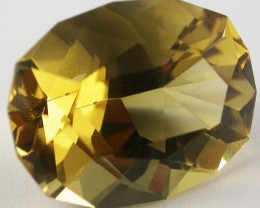19.7 CTS BRIGHT  CITRINE-FANCY CUT  [ST9487]