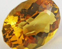 18.7 CTS BRIGHT  CITRINE-FANCY CUT  [ST9490]