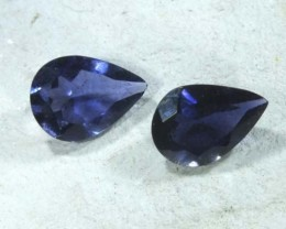 IOLITE NATURAL FACETED 0.9 CTS LG-1176