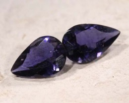 IOLITE NATURAL FACETED 0.75 CTS LG-1177
