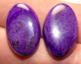 Sugilite matching cabs 35.80tcw