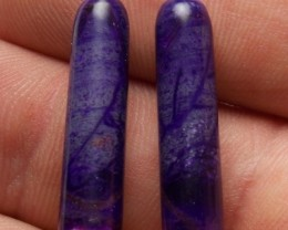 Matching Sugilite Bullets 20.90tcw