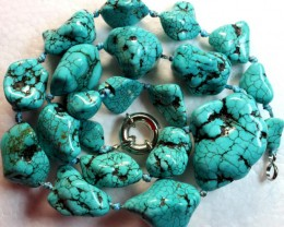 776.5 CTS HOWLITE BEADS with Clasp P996