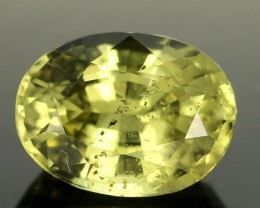 1.72cts Transparent Yellow Chrysoberyl (RCB12)