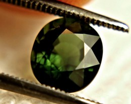 1.96 Carat Green Nigerian VS Tourmaline