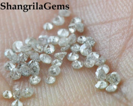 0.25ct Grey Diamonds brilliant cut round 18 diamonds approx