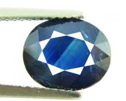 3.34ct Natural Intense Blue Oval sapphire- VVS/ VS - DR31