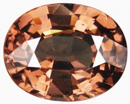 2.58ct Seductive Luster Quality ! Pinkish Natural Malaya Garnet ! VVS- DR56
