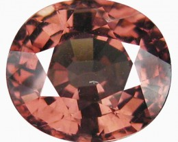 2.18ct Seductive Luster Quality ! Pinkish Natural Malaya Garnet ! VVS- DR58