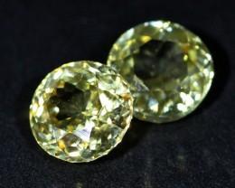 2.8 CTS ZIRCON PAIR FROM SRI LANKA -  TOP DIAMOND CUT [ST9600]